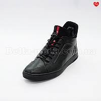 Мужские зимние ботинки Prada