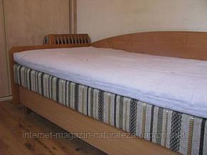Матрас льняной Линтекс 100х190 футон h 6 см, фото 2