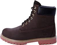 Женские ботинки Timberland (натур.мех)