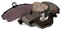 Дисковые тормозные колодки (передние), тормозные жидкости