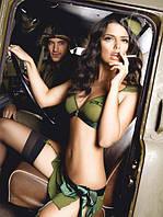 Игровой костюм «Майор обольщения» 3-piece Green Majors uniform, M/L