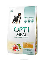 Optimeal (Оптимил) корм для взрослых собак крупных пород с курицей, 12 кг
