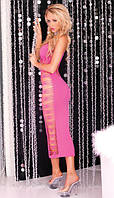 Платье Big Spender seamless long dress Pink