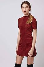 Платье темно-терракотового цвета Topshop, фото 2