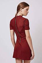 Платье темно-терракотового цвета Topshop, фото 3