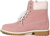 Женские ботинки Timberland (иск.мех)