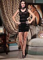Эротическое платье в сеточку