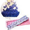 Силиконовый молд Бордюр цветы гортензии