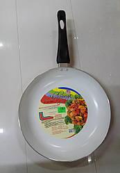 Сковорода з керамичным покриттям D26см