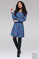 Джинсовое женское платье 140 ас Код:408119543