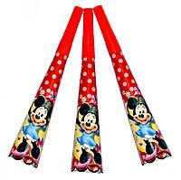 """Горны карнавальные """"Minnie Mouse"""". В упак: 8 штук."""