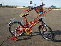 Детский двухколесный велосипед Azimut Hotwheels Хотвилс18  дюймов для мальчика