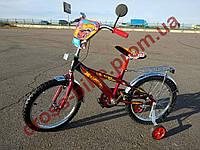 Детский двухколесный велосипед Azimut Hotwheels Хотвилс20  дюймов для мальчика