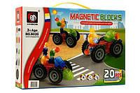 Магнитный конструктор Magnetic Block 8020 (20 деталей), фото 1