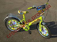 Детский двухколесный велосипед Azimut Мадагаскар 18  дюймов для мальчика
