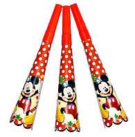 """Горны карнавальные """"Mickey Mouse"""". В упак: 8 штук."""