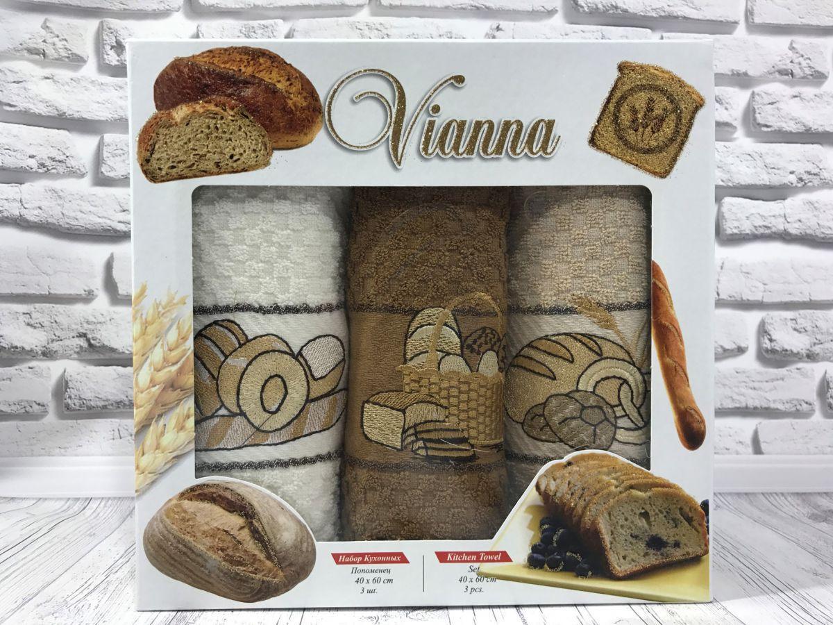Подарочный набор кухонных полотенец Vianna № 32591