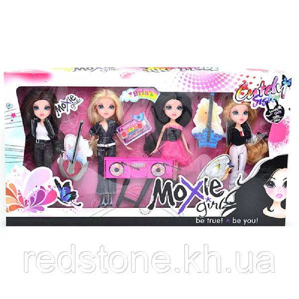 Куклы Moxie Girlz Art titude Мокси набор кукол