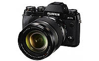 Фотокамера бездзеркальна Fuji X-T1 Kit 18-135 OIS Black