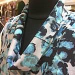 Свитер теплый вязаный ангоровый , серо-голубой  размеры 48-54 ., фото 3