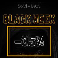 Black Week - Скидки до -35%