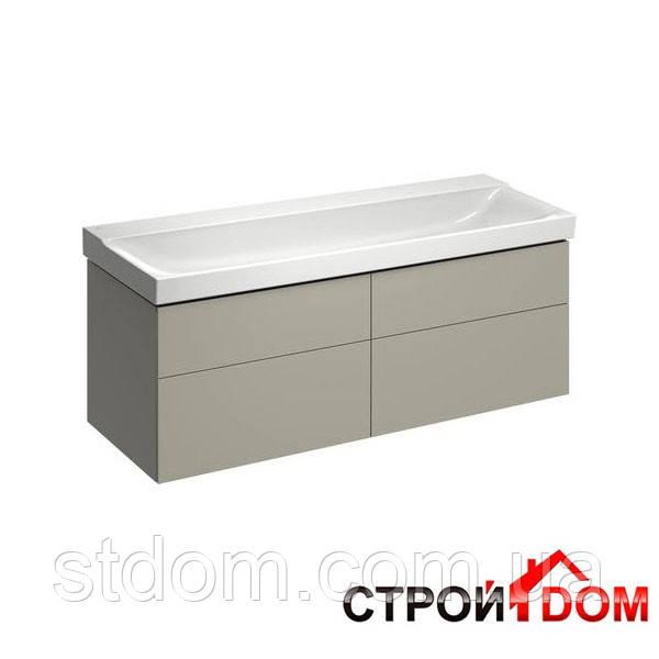шкафчик под раковину с ящиками с подсветкой Keramag Xeno2 807242000 серый дуб