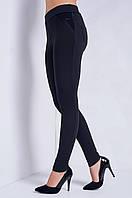 Женские зимние лосины, леггинсы Марджа  размеров  на байке 40, 42, 44, 46, 48, 50, 52,54  черные и коричневые