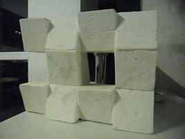 """Форма для гипсовых 3d блоков (перегородок) """"Дуб"""""""