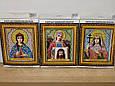 Набор для вышивки бисером икона Господь Вседержитель VIA 5002, фото 7
