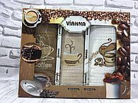 Подарочный набор вафельных кухонных полотенец Vianna № 32601