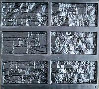 """Форма для декоративного каменю та плитки """"Оман"""", АБС-пластик, 18 форм в комплекті"""