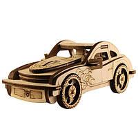 """Сборная деревянная модель """"Машина Порш"""" 170*80*60 мм 80766"""