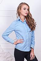 Рубашка молодежная хлопковая М136 Код:428412495