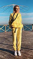 Стильный женский плюшевый костюмчик, фото 1