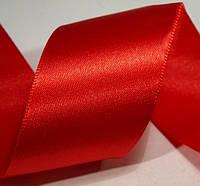 Лента атласная красная (40 мм)