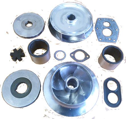 Запасные части и ремонтные наборы для насосов