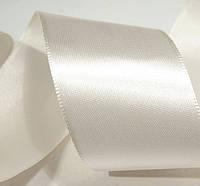Лента атласная белая (40 мм)