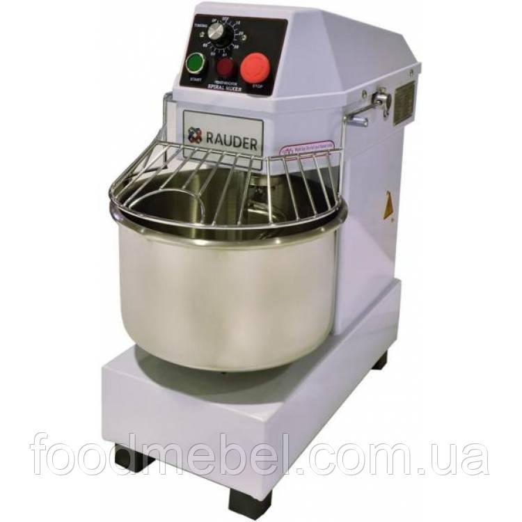 Тестомес односкоростной Rauder LT-10 профессиональный 220 В