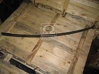 Лист рессоры №1 задней ЗИЛ 130 1600мм с накладкой (производство Чусовая) (арт. 130Д-2912100-В), AEHZX