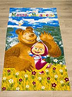 Полотенце пляжное Маша и медведь
