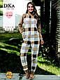 Женская домашняя одежда комбинезон Dika 4628 L, фото 2