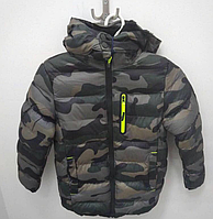 Курточка для мальчика камуфляж