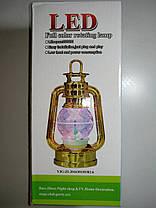 Диско лампа Фонарь LED светодиодная, вращающаяся, фото 2