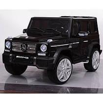 Детский электромобиль Mercedes G65 VIP M 3567 EBLR-2 EVA  колеса+ кожа