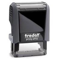Оснастка для штампа TRODAT 4910, 9х26 мм, корпус пластиковый