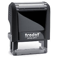 Оснастка для штампа TRODAT 4911, 14х38 мм, корпус пластиковый
