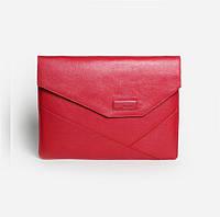 """Папка для MacBook 12"""" кожаная красная"""