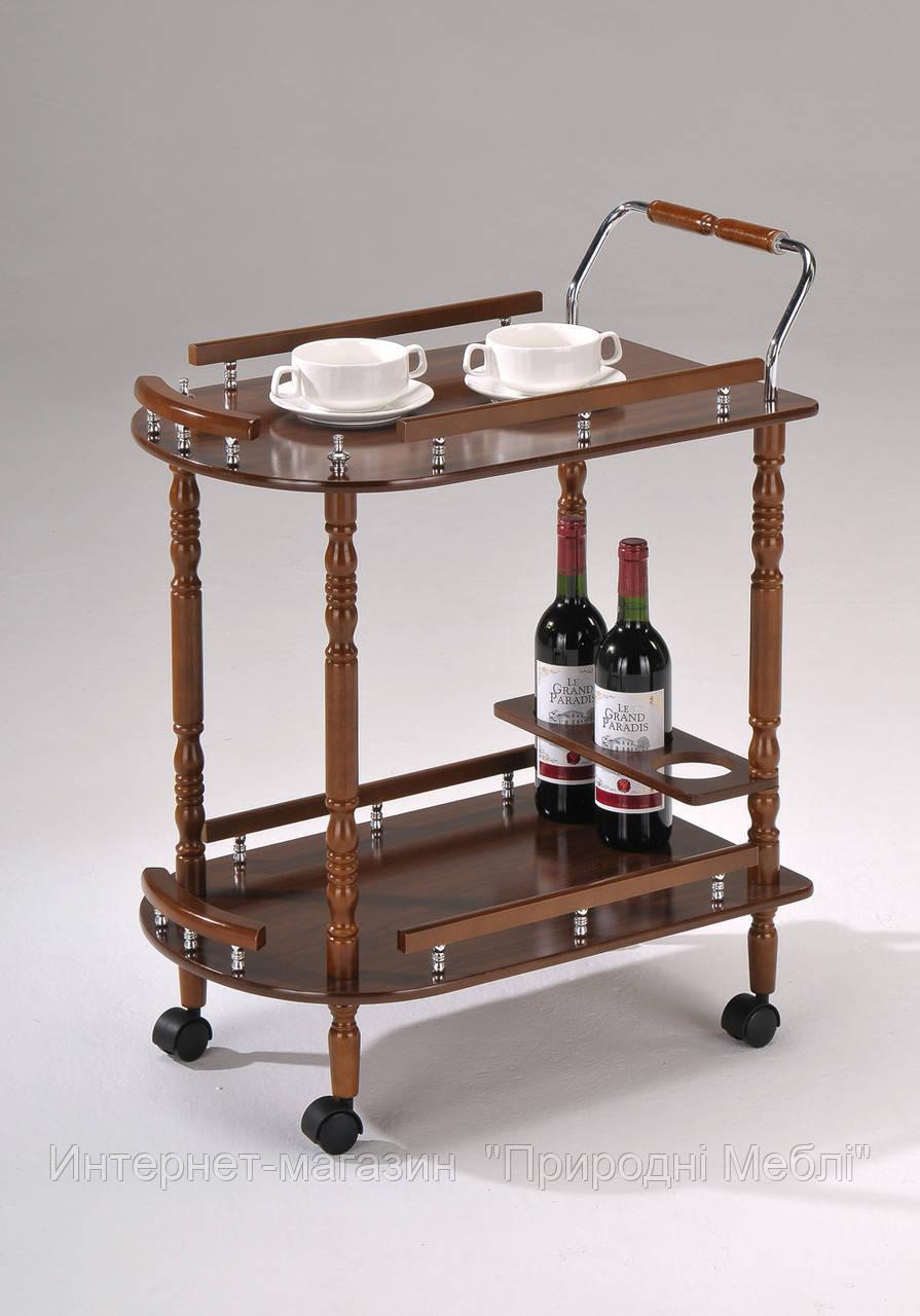 Сервировочный столик на колесиках W-17