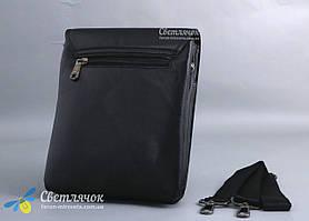 Сумка барсетка мужская Fashion 0201-3  черная, фото 2