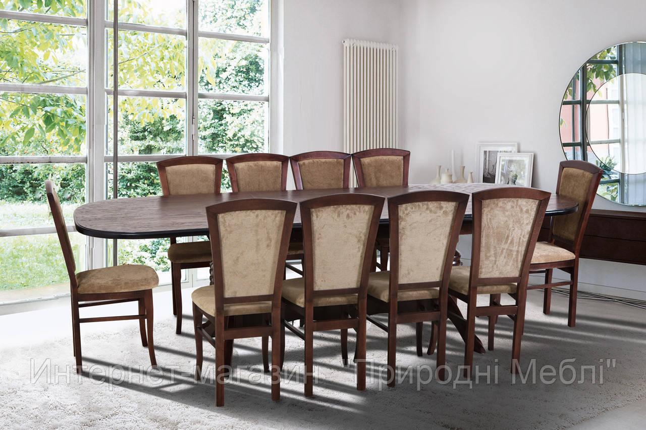 Стол обеденный раскладной  2 м Гетьман